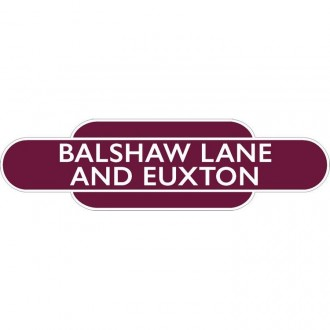 Balshaw Lane And Euxton