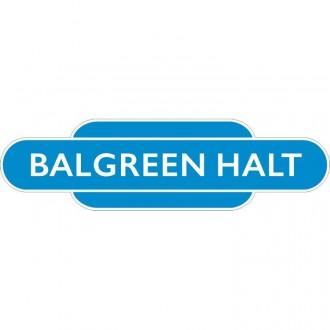 Balgreen Halt