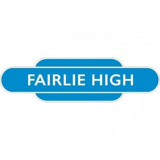 Fairlie High