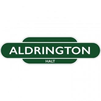 Aldrington  Halt