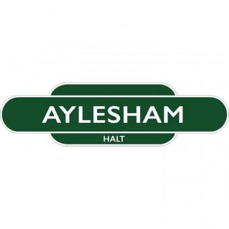 Aylesham Halt