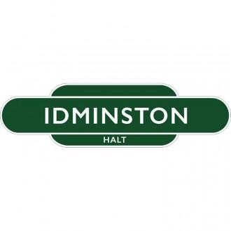 Idminston  Halt